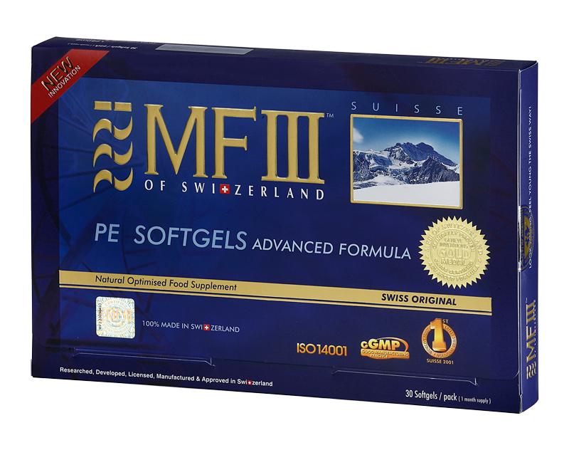 瑞士進口MF-III PE膠囊(含專利PCC30成分)