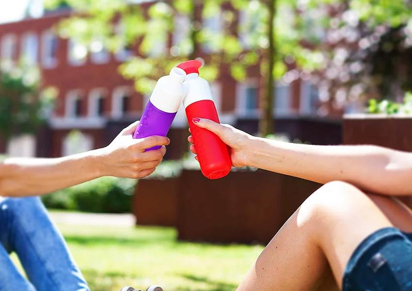 運動水瓶,運動水壺,運動,喝水,戶外,隨行杯,水瓶,水杯,杯子,多用途,可拆式零件,可回收,環保,時尚,荷蘭設計,荷蘭製造,可洗碗機清洗,方便